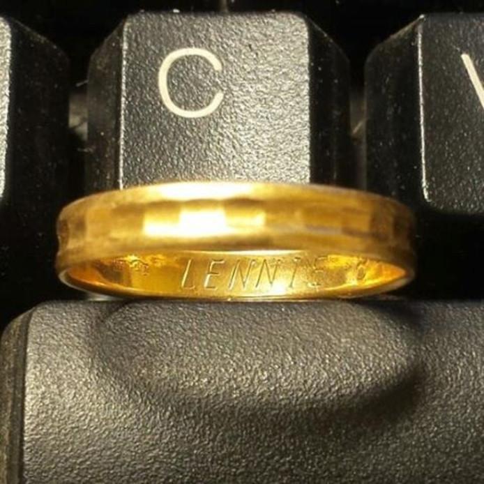 De ring met inscriptie. Foto: Het Goed Wijhe
