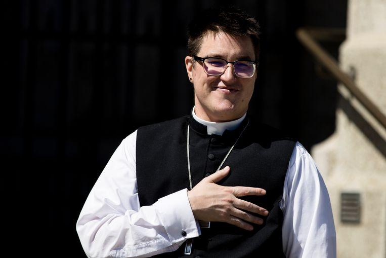 De Amerikaanse bisschop Megan Rohrer Beeld AP