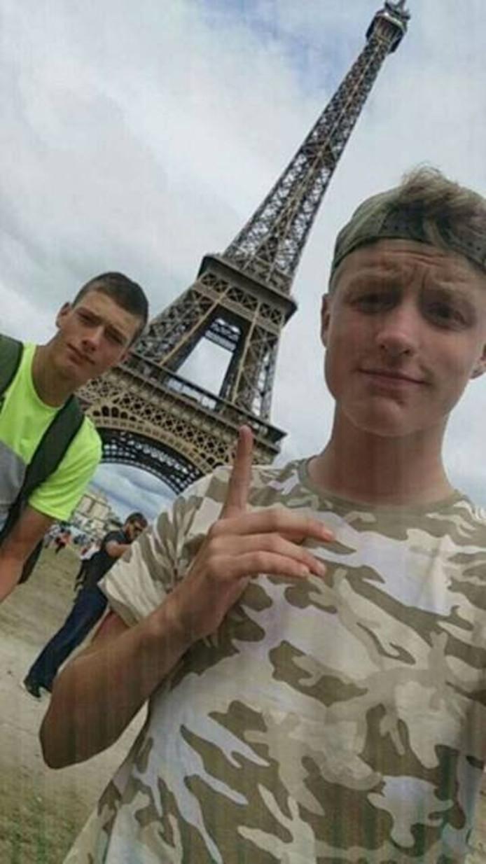 Een selfie in Parijs