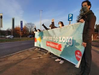 PVDA laat automobilisten toeteren voor het zorgpersoneel