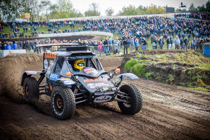 De RTL Dakar Pre-Proloog in 2018, voorlopig de laatste keer op het Eurocircuit in Valkenswaard.