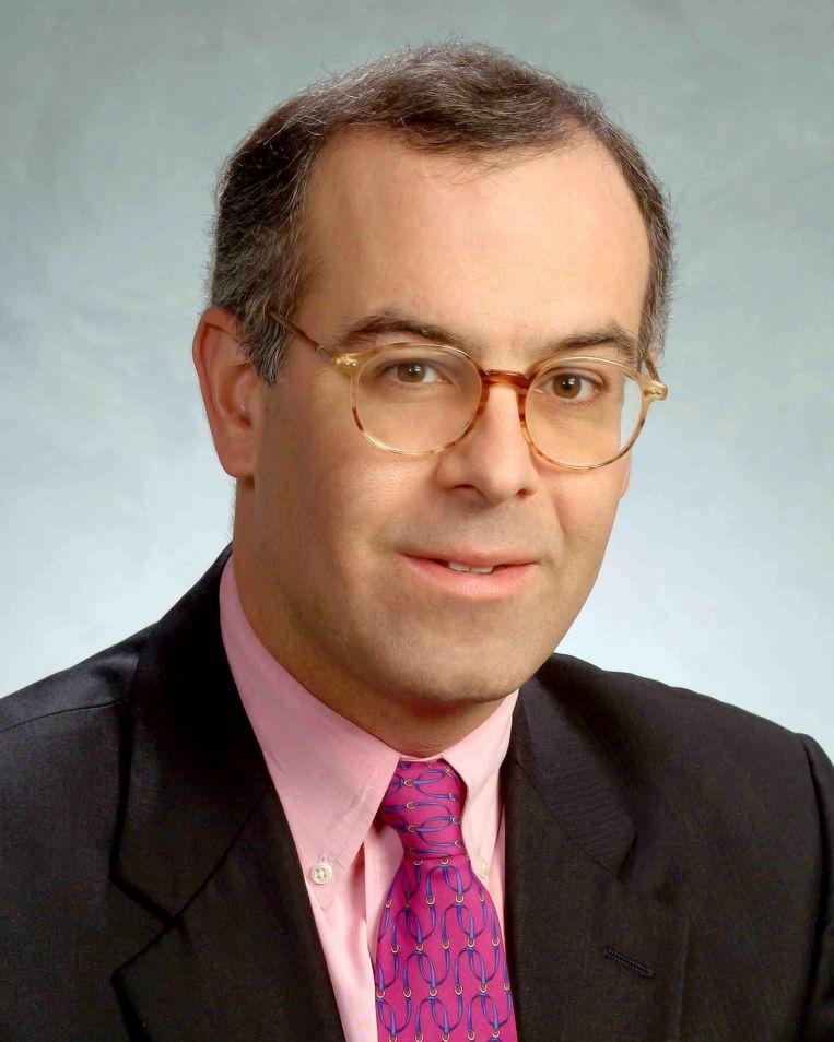David Brooks, columnist voor The New York Times Beeld RV