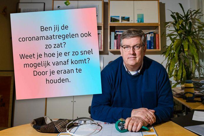 Huisarts Ruud Gebel. Inzet: de oproep op Facebook.