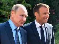 Poutine et Macron affichent leur bonne volonté et... leurs divergences