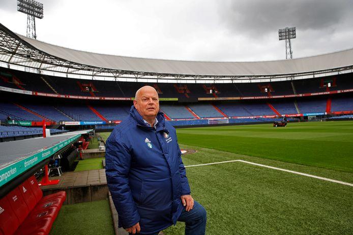 Bas van Noortwijk in zijn geliefde Kuip.