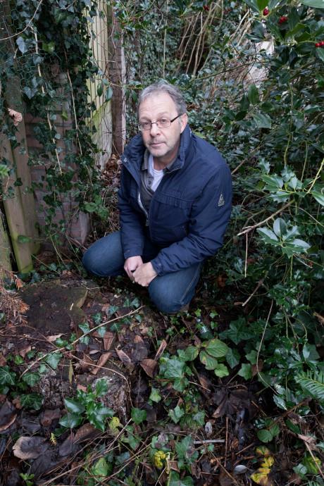 Harrie Cleven wist niet wat hij zag toen hij thuiskwam: boom in achtertuin foetsie