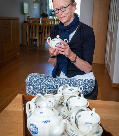 Marina is zuinig op haar zwaantjesservies: 'Aandenken aan mijn moeder'