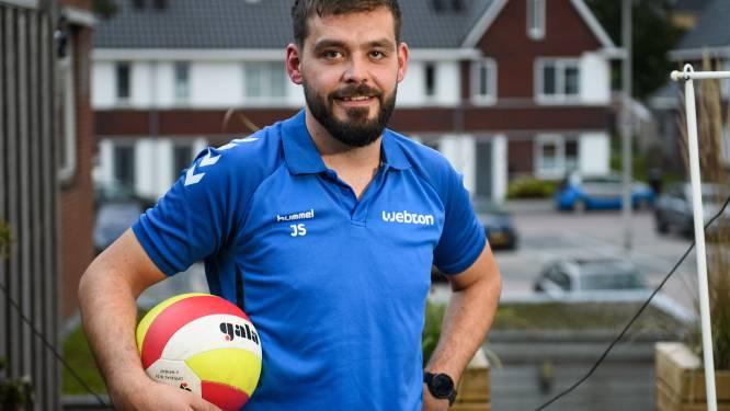 Jasper Smit maakt als volleyballer van Webton even een pas op de plaats: passer/loper is nu teammanager