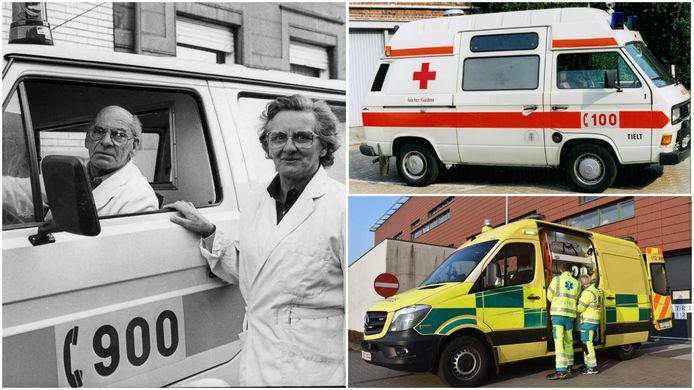 Van 900 over 100 tot 112. De ambulancedienst van het Rode Kruis Tielt heeft 35 jaar op de teller.