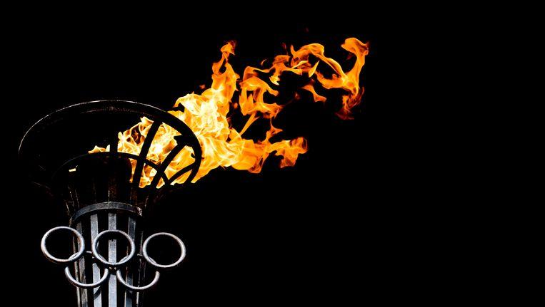Olympische vlam. Beeld ANP