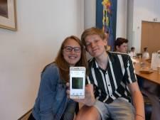 Schoolstrijd in Kampen levert oplossing op voor zwerfafval in natuur: punten scoren met speciale app