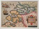 Een kaart uit de tentoonstelling.