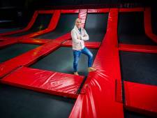 Nieuwe trampolinehal was nét klaar om open te gaan, toen kwam tweede lockdown: 'Het gevoel dat je als ondernemer niets kan, is heel hard'