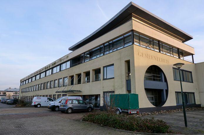 Het oude gemeentehuis van Strijen.
