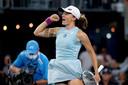 Iga Swiatek won afgelopen weekend het WTA-toernooi van Adelaide.