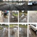 Foto's van het achterterrein bij Perron-3