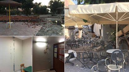 Aardbeving Kos: geen Belgen bij doden of gewonden