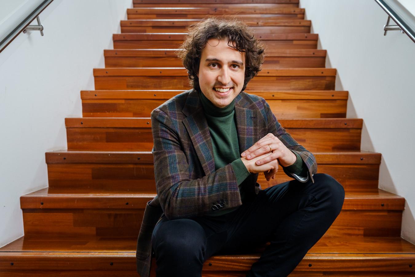 GroenLinks-lijsttrekker Jesse Klaver.