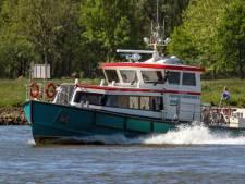 Gorcumse veerpont naar de werf: maar één afvaart per uur tijdens de spits