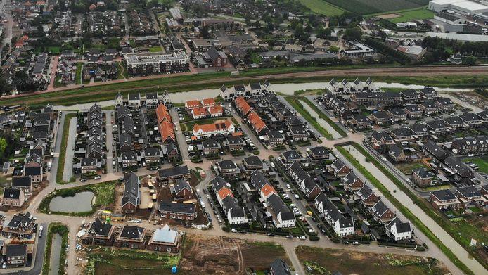 Casterhoven is de grote nieuwbouwwijk in Kesteren