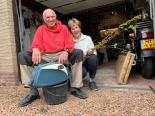 Motormuizen Simon en Corry zijn op 'pauze' bij hun vogelhuizen