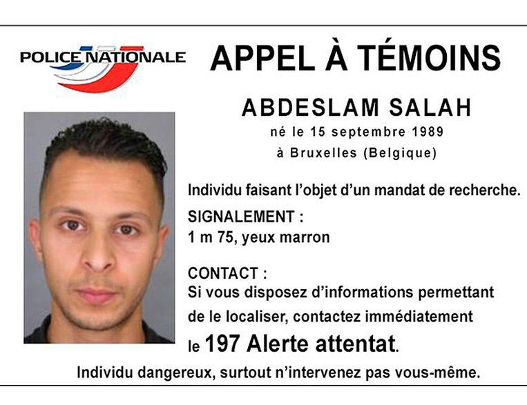 Salah Abdeslam. Beeld Reuters
