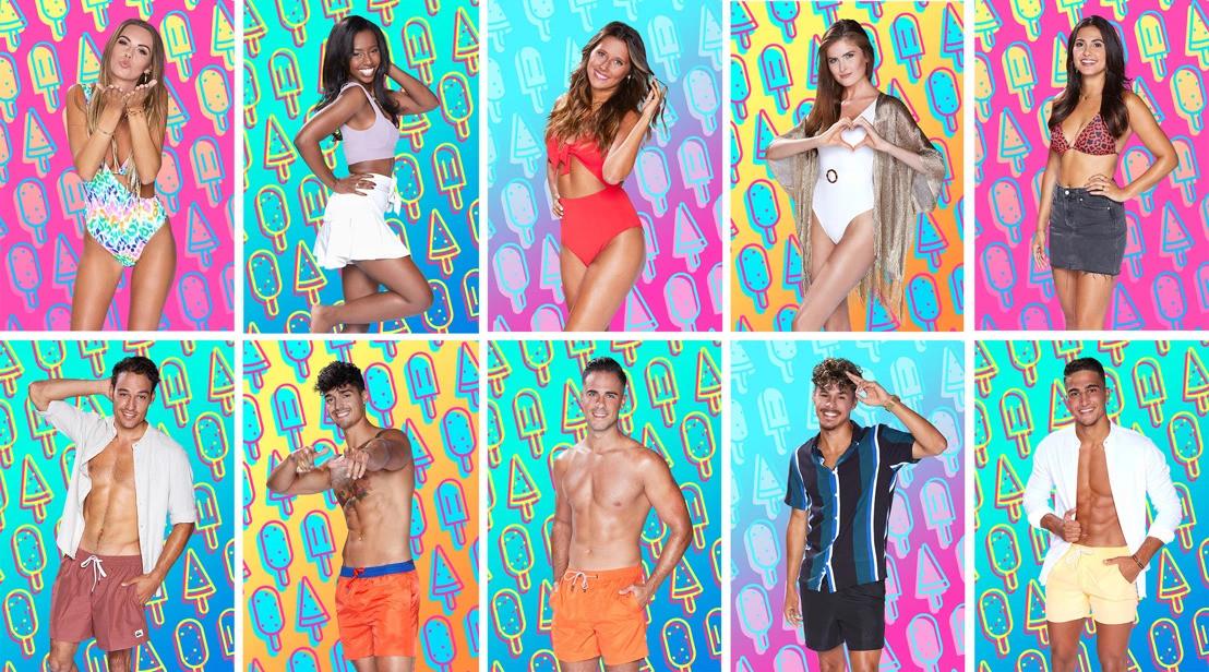 De kandidaten van Love Island 2020