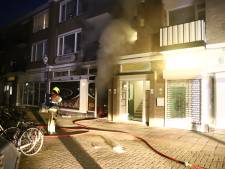 Flat ontruimd door brand in eetgelegenheid Tiel