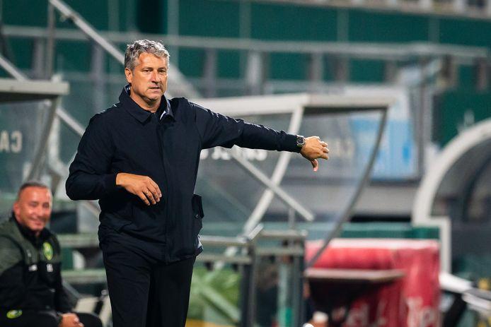 """ADO-trainer Ruud Brood: ,,Tegen NAC was het niet goed, maar iedere Haagse speler ging helemaal tot de bodem."""""""
