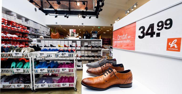 VanHaren had al 16 winkels bij ons, dat worden er straks 54. Beeld Photo News
