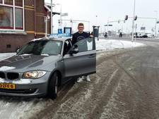 Slagen in de sneeuw? Jacco (20) uit IJsselmuiden deed het vandaag