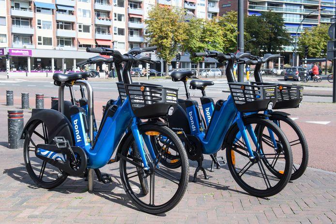 Bondi werkt onder meer in Enschede en biedt daar deel e-bikes aan.
