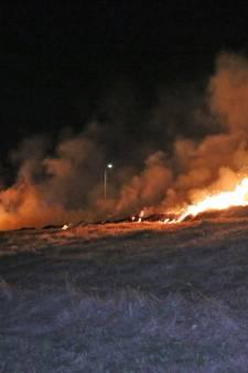 Broei veroorzaakt grote buitenbrand Kwintsheul