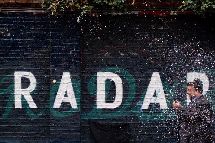 De lancering van RADAR in oktober vorig jaar.