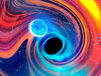 Voor het eerst waargenomen: zwart gat slokt neutronenster op