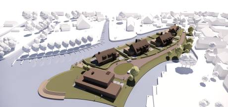 Luxe villa's op klein schiereiland bij Westmaas: 'Dit wordt gaaf'
