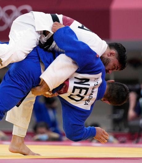 Brons hoogst haalbare voor judoka's na kansloze nederlaag tegen Frankrijk