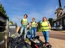 Gorcumers brengen ode aan hun landschap door zwerfvuil te prikken op World Cleanup Day