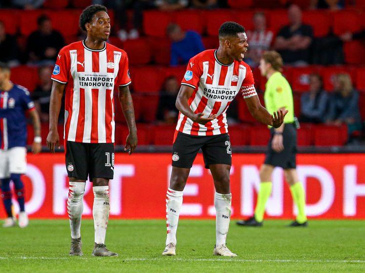Samenvatting | PSV pakt op de valreep drie punten na blunder Mvogo