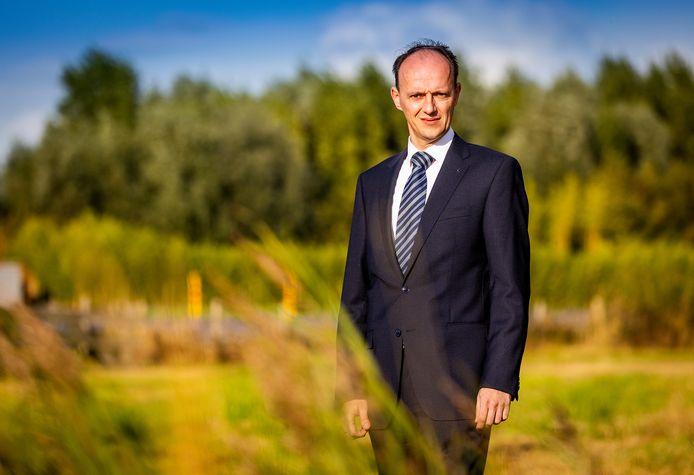 Adriaan van der Wulp, de lijsttrekker van de SGP.