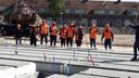 De bouw van 63 woningen in de wijk Tivoli in Eindhoven voor corporatie Woonbedrijf is gestart.
