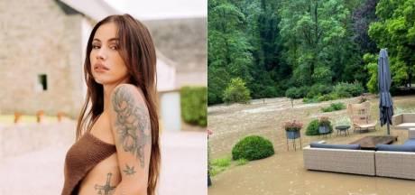 En vacances en Toscane, l'influenceuse Gaëlle Garcia Diaz découvre sa maison sous eau