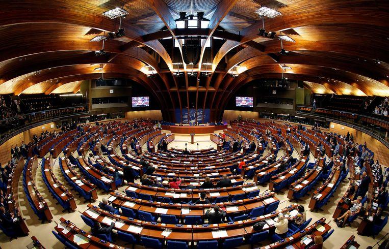 Het parlement van de Europese Raad in Straatsburg. Beeld REUTERS