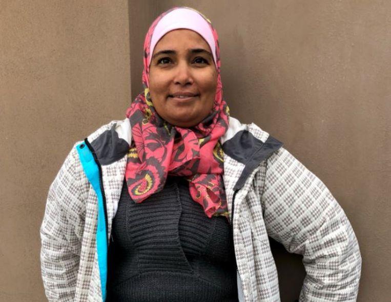 Majida Ali werd geboren in Damascus als Palestijnse vluchteling. Beeld Thijs Kettenis