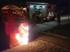Mobiel toilet in brand gestoken in Sluiskil