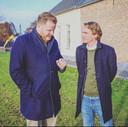 Thomas Melisse (l) is naast wethouder in de gemeente Halderberge ook persoonlijk campagneleider van beoogd minister Bas van 't Wout (r).