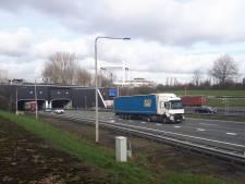 Rechterbuis Drechttunnel komend weekend afgesloten richting Breda