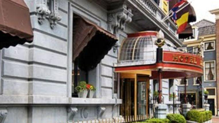 De ingang van het chique hotel. Beeld Google Streetview