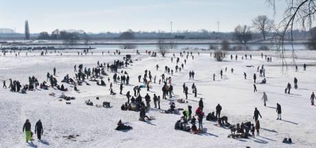 Zo ziet genieten op ijs eruit in de Vallei