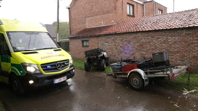 Poolse arbeider zwaargewond bij ongeval met quad